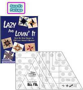 lazy and lovin it package 1 lazy and lovin it book joan hawley 2 lazy angle ruler