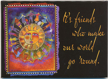 harmony laurel burch magnet