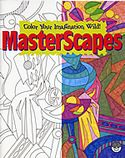 masterscapes coloring book mindware