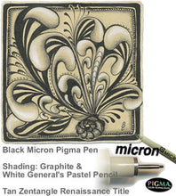 Load image into Gallery viewer, black pigma micron fine line pen