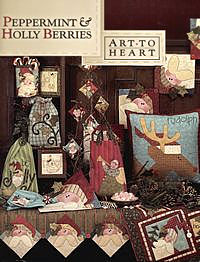 peppermint holly berries nancy halvorsen