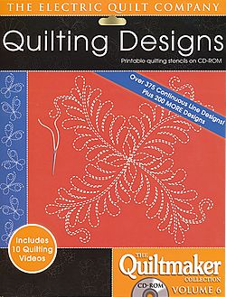 quilting designs quiltmaker collection volume 6