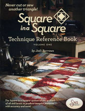 Load image into Gallery viewer, Square in a Square by Jodi Barrows Book & Mini/Small Ruler Package