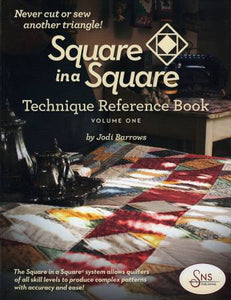 Square in a Square by Jodi Barrows Book & Mini/Small Ruler Package