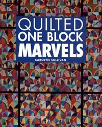 quilted one block marvels