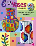quilted art vases