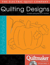 Load image into Gallery viewer, quilting designs quiltmaker