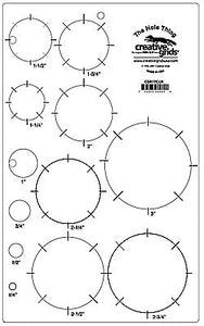 creative grids ruler circle template