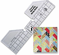 creative grids trapezoid strip ruler
