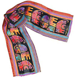 fantastic feline black scarf laurel burchlaurel burch