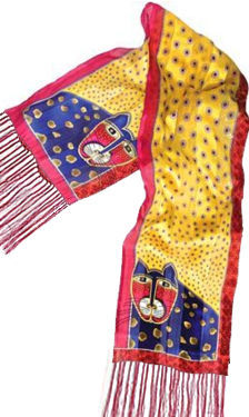toto scarf laurel burch