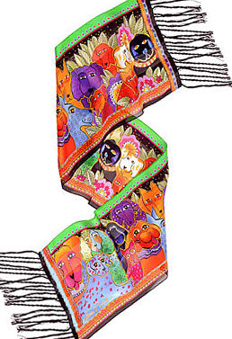 canine clan scarf laurel burch
