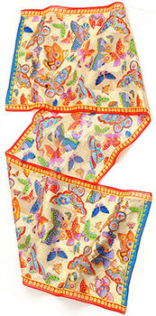 mariposasa scarf laurel burch