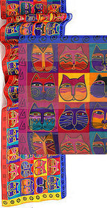 cat masks scarf laurel burch