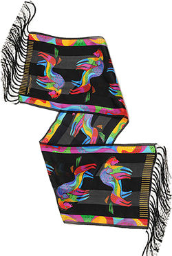 rainhorseb scarf laurel burch