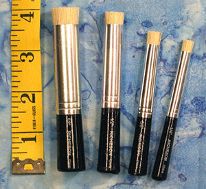 paintstik brushes set of 4