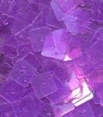 light purple 7mm square flat sequins