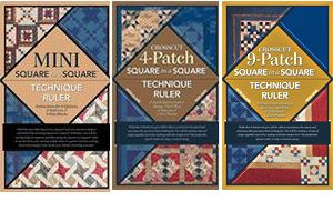 3 square in a square ruler booklet package