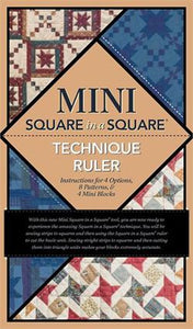 Square in Square by Jodi Barrows Book, Ruler & DVD Package