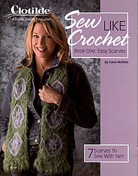 sew like crochet easy scarves