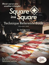 Load image into Gallery viewer, Square in Square by Jodi Barrows Book, Ruler & DVD Package
