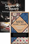 Load image into Gallery viewer, square in a square jodi barrows book mini small ruler package