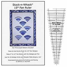 stack n whack 15 degree ruler