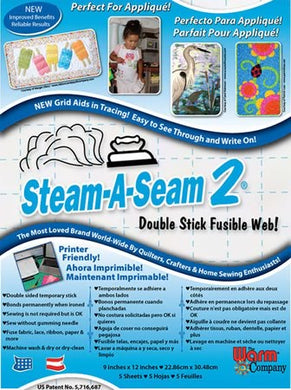 steam a seam2 sheets 9x12