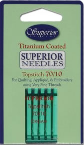 superior titanium topstitch 70 10 needles