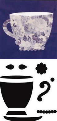 teacup crafters workshop quilting applique template stencil