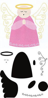 angel crafters workshop template stencil