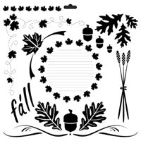harvest crafters workshop template stencil
