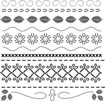 deco stitches crafters workshop template stencil