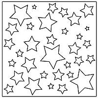 twinkle twinkle crafters workshop template stencil