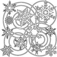 winter wonderland crafters workshop template stencil