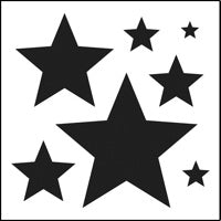 basic stars crafters workshop template stencil