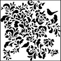 paradise crafters workshop template stencil