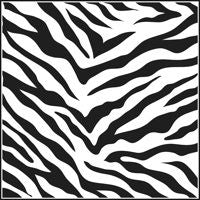 zebra crafters workshop template stencil