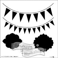 circus banners crafters workshop template stencil