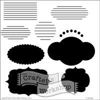 journaling blurbs crafters workshop template stencil