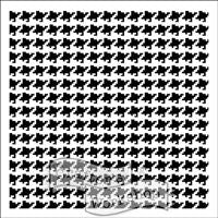 houndstooth crafters workshop template stencil