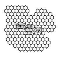chickenwire crafters workshop template stencil