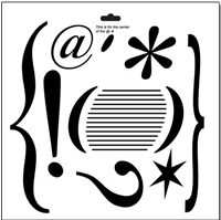 doohickey crafters workshop template stencil