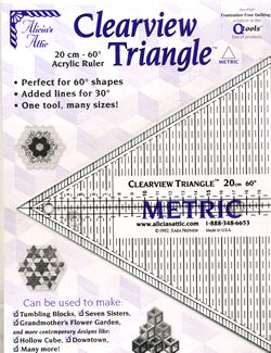 20cm clearview triangle