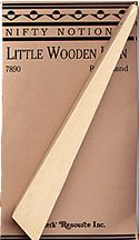 little wooden iron