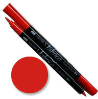 114 poppy red fabrico dual marker