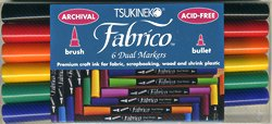 standard fabrico 6 dual markers set
