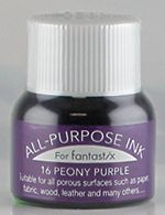 all purpose ink tsukineko ink 16 peony purple