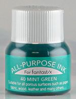 all purpose ink tsukineko ink 40 mint green