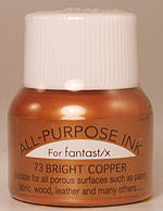all purpose ink tsukineko ink 73 bright copper